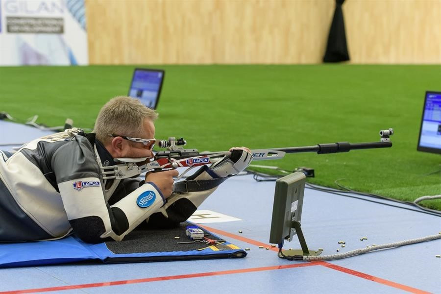 Torben Grimmel won his third title of the ISSF World Cup season ©ISSF