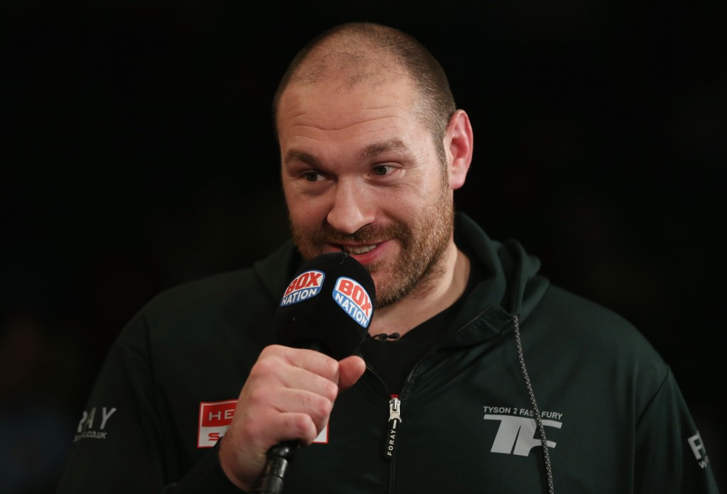 "Tyson Fury was alleged to have had an ""unacceptable"" level of nandrolone in his system ©Getty Images"