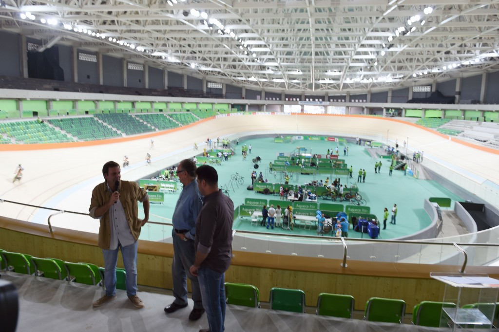 The Olympic Velodrome was handed over to Rio 2016 ©Getty Images