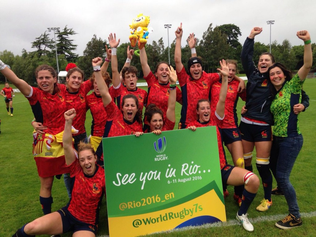 Spain claim final place in Women's Rugby Sevens competition at Rio 2016