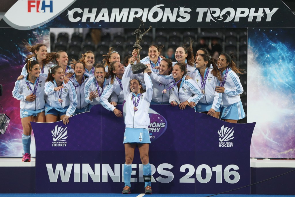 Argentina secured the pre-Rio 2016 bragging rights by lifting the Champions Trophy for a seventh time ©Getty Images