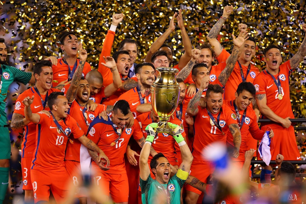 Chile beat Argentina on penalties for second year in a row to win Copa América Centenario