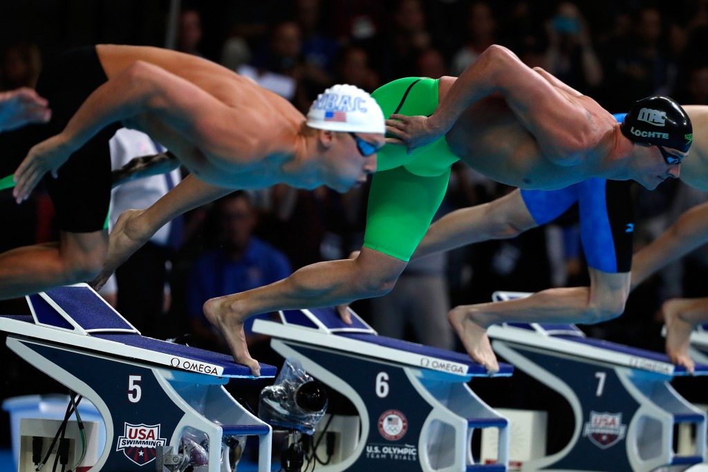 Ryan Lochte missed out on Olympic qualification after fading to third place ©Getty Images