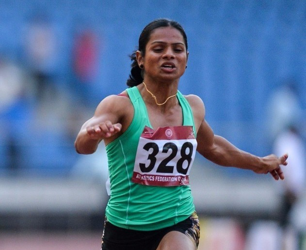 Dutee Chand has qualified for the Rio 2016 Olympic Games ©Getty Images