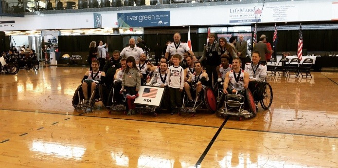 The United States have returned to number one spot on the IWRF world rankings ©Twitter