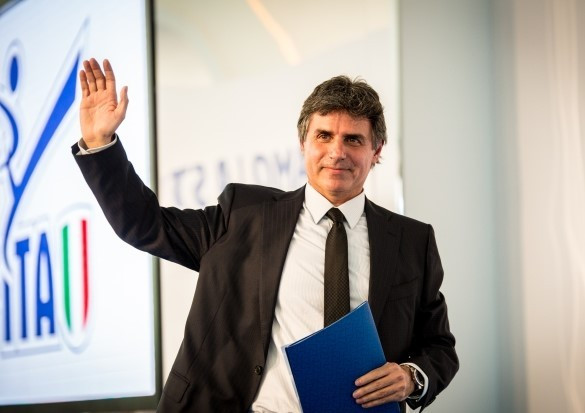 Angelo Cito was elected as the new President of the Italian Taekwondo Federation with 98 per cent of the vote ©FITA
