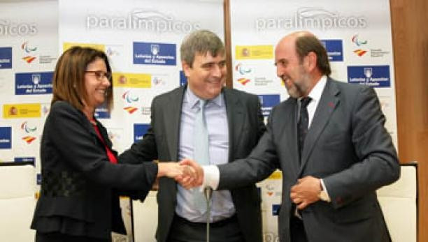 Spanish Paralympic Committee extend sponsorship agreement with public lottery company ahead of Rio 2016