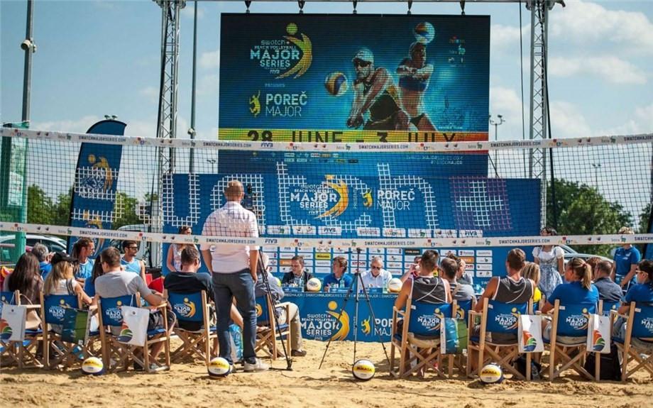 Rio 2016 top seeds Antunes and Franca headline women's field at FIVB Porec Major