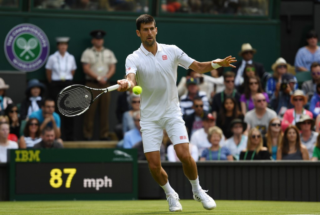 Djokovic safely through as world number 772 reaches round two on opening day at Wimbledon