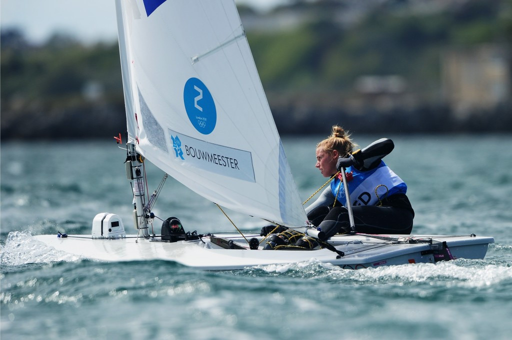 Marit Bouwmeester, pictured here in Dorset, England, was a big winner at the World Sailing Awards @Getty Images