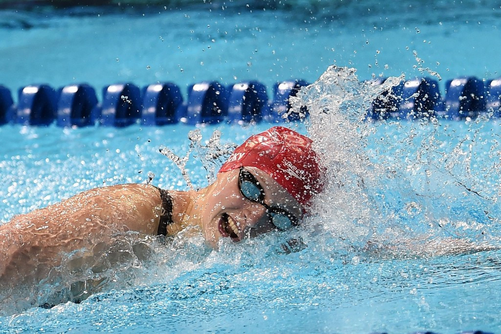 Ledecky narrowly misses world record on way to Rio 2016 spot at US Olympic Trials