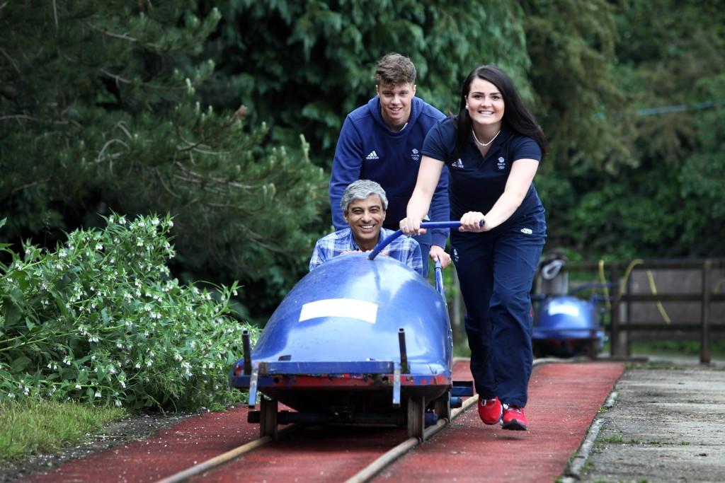 British bobsleigh talent identification scheme receives sponsorship boost