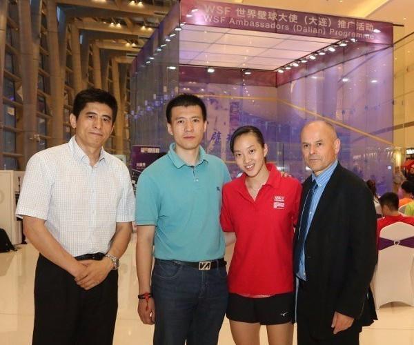 Dalian bids to stage 2018 Women's World Team Squash Championship