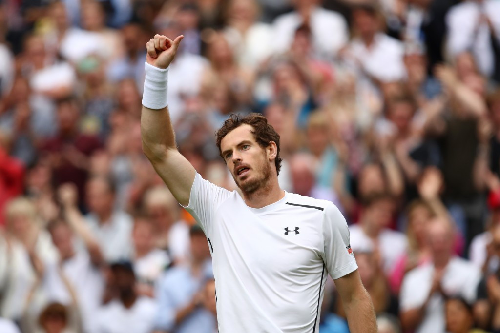 World number two Andy Murray got his campaign up and running today ©Getty Images