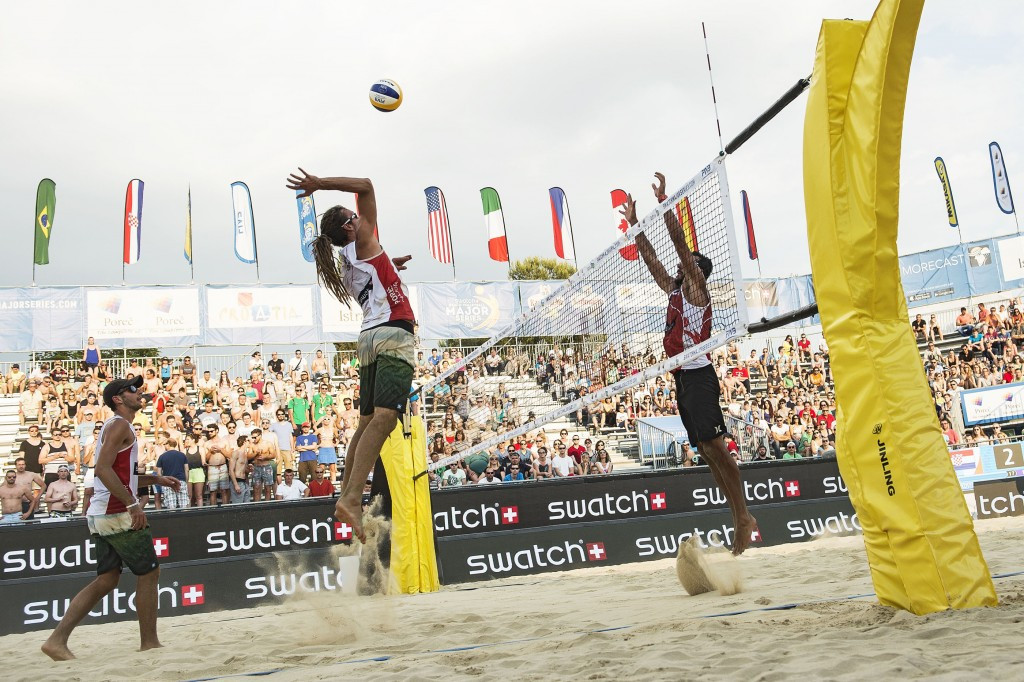 Polish fifth seeds safely through as organisers decide to hold men's FIVB Poreč Major qualification round over two days