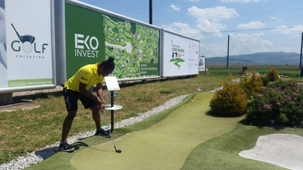 The WMF World Adventure Golf Masters in Kosovo was the largest staging of the event in its six-year history ©WMF