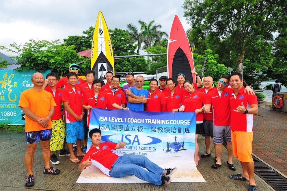 ISA certify instructors in 12 countries to continue development of StandUp Paddle