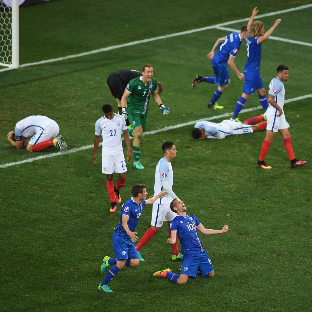 England's defeat by Iceland on Monday (June 27) was arguably the country's most embarrassing international reverse since losing against the United States at the 1950 World Cup ©Getty Images