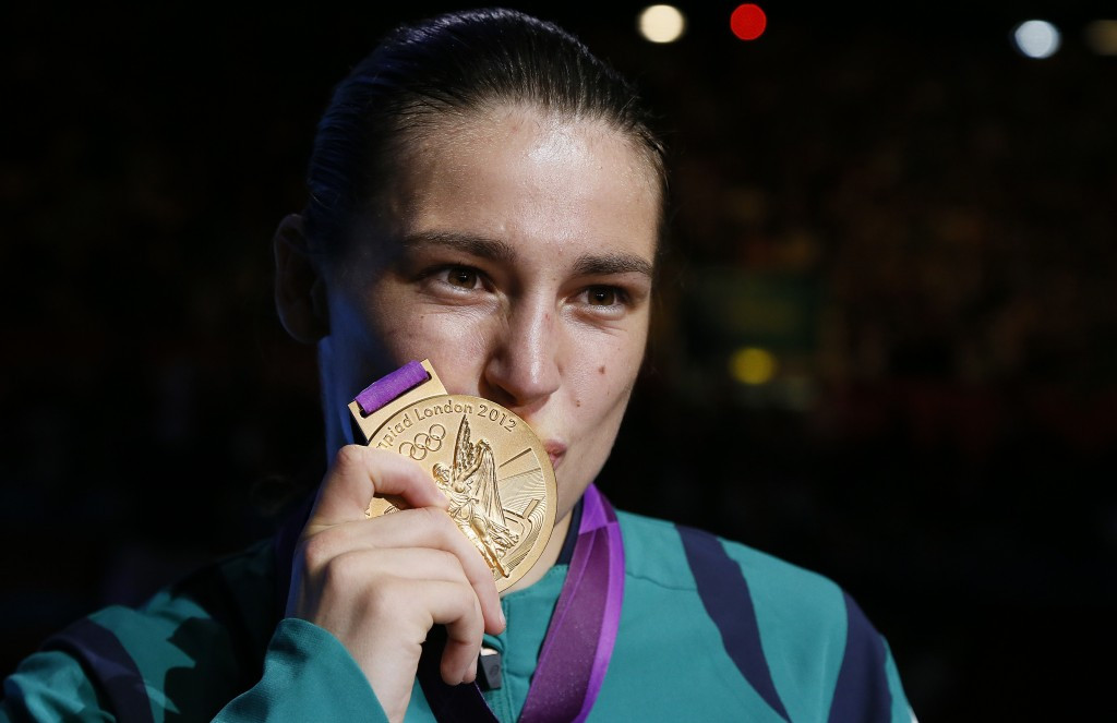 London 2012 gold medal-winning boxer Katie Taylor has hit out at golfers who have pulled out of competing at Rio 2016 due to concerns over Zika ©Getty Images
