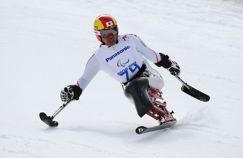 Japanese alpine skier Takeshi Suzuki is among the athletes expected to compete at the Pyeongchang 2018 Paralympic Games ©Getty Images