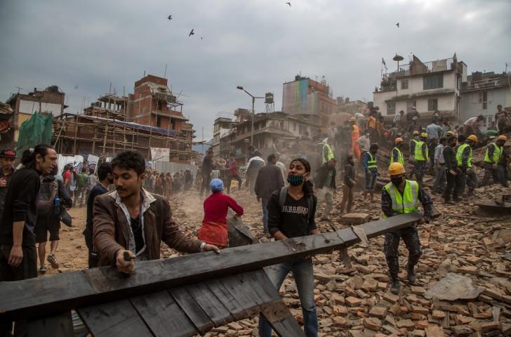 A devastating earthquake hit Nepal in April