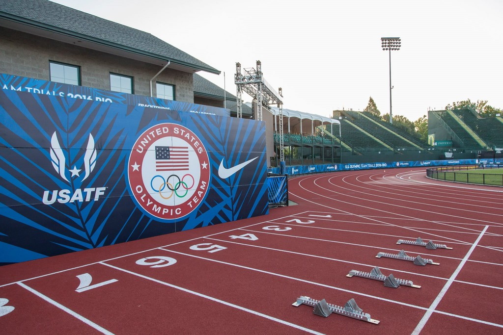 The IAAF Diamond League meeting in Eugene starting tomorrow will be the last in Hayward Field before it is redeveloped ©Getty Images