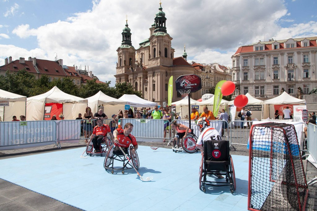 Prague locals take part in sport events as IWAS Under-23 World Games officially opens