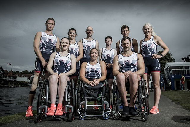 Nine athletes have been selected to represent Britain in para-rowing at Rio 2016 ©ParalympicsGB