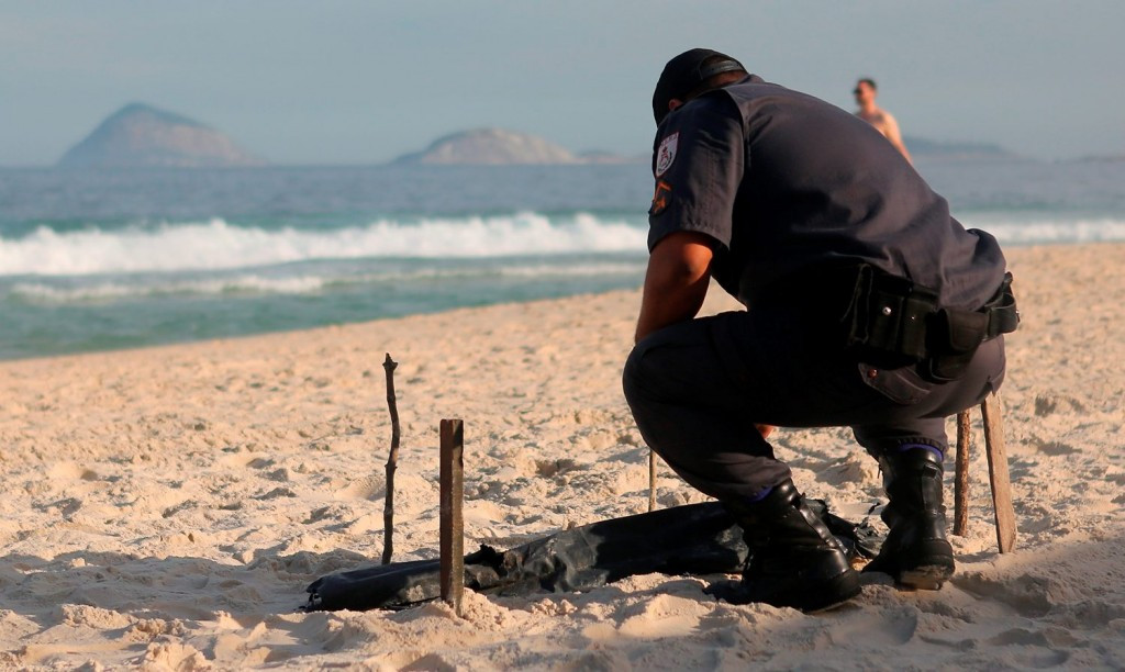 Body parts wash ashore Copacabana Beach near Rio 2016 beach volleyball venue