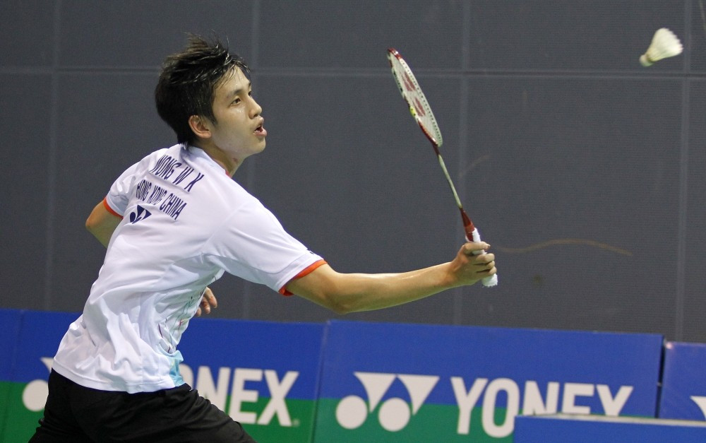 Hong Kong's Wong causes upset to reach quarter-finals at BWF Chinese Taipei Open