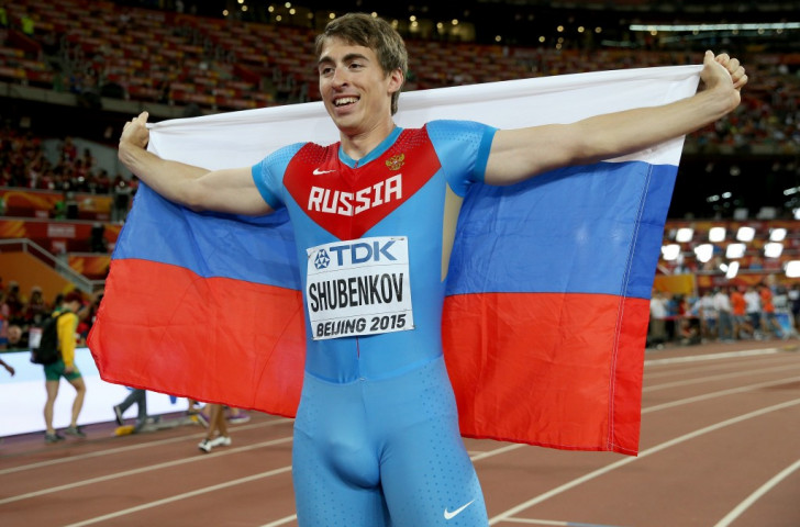Sergey Shubenkov, Russia's world 110m hurdles champion, will return to international competition as a neutral at tomorrow's IAAF Diamond League meeting in Shanghai ©Getty Images