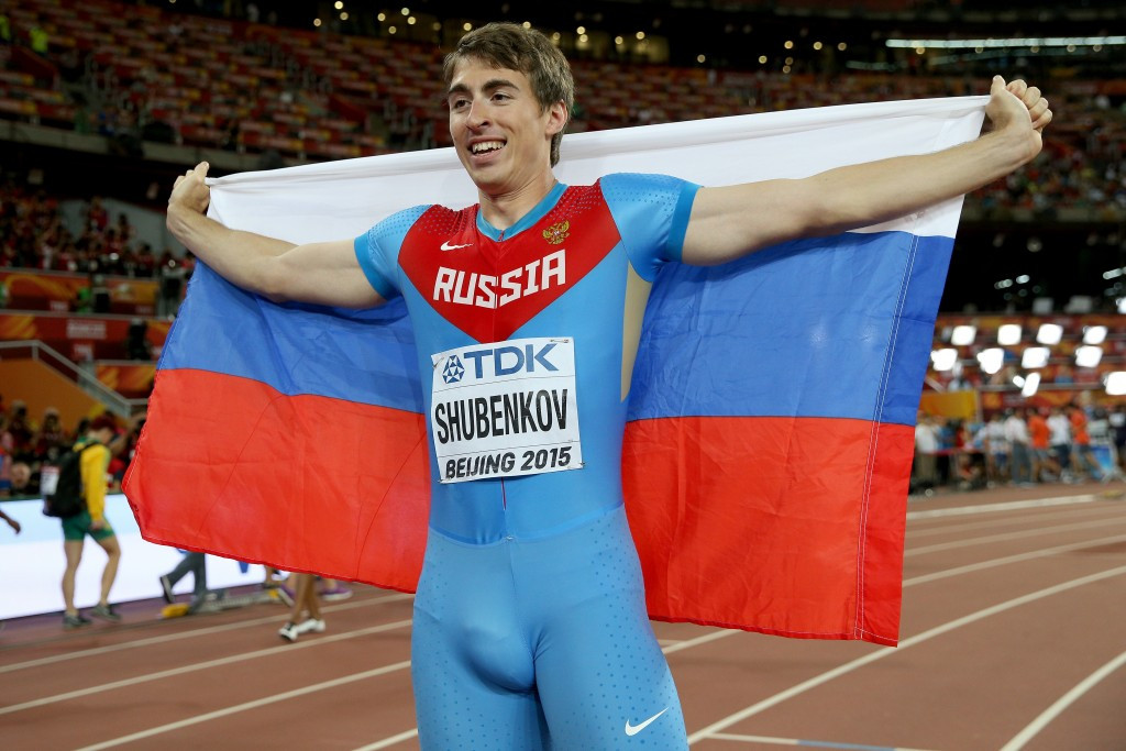 Hurdles world champion Sergey Shubenkov has criticised the decision not to lift the Russian suspension ©Getty Images
