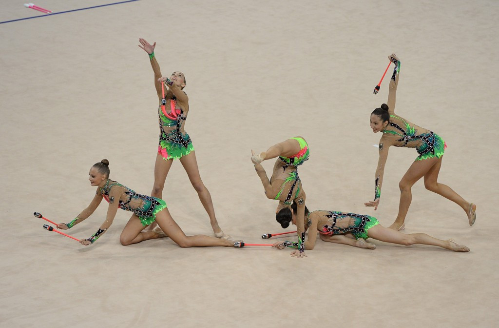 German rhythmic gymnastics team seek to impress home crowd at Berlin Masters