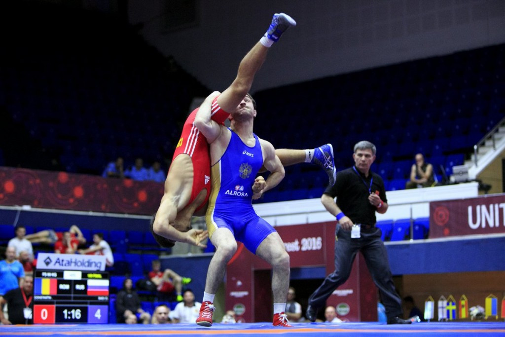 Russia claim hat-trick of freestyle golds as European Junior Wrestling Championships come to a close