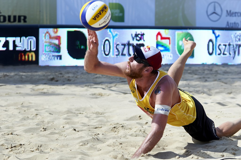 Mixed fortunes for top-seeded Brazilians at FIVB Poreč Major