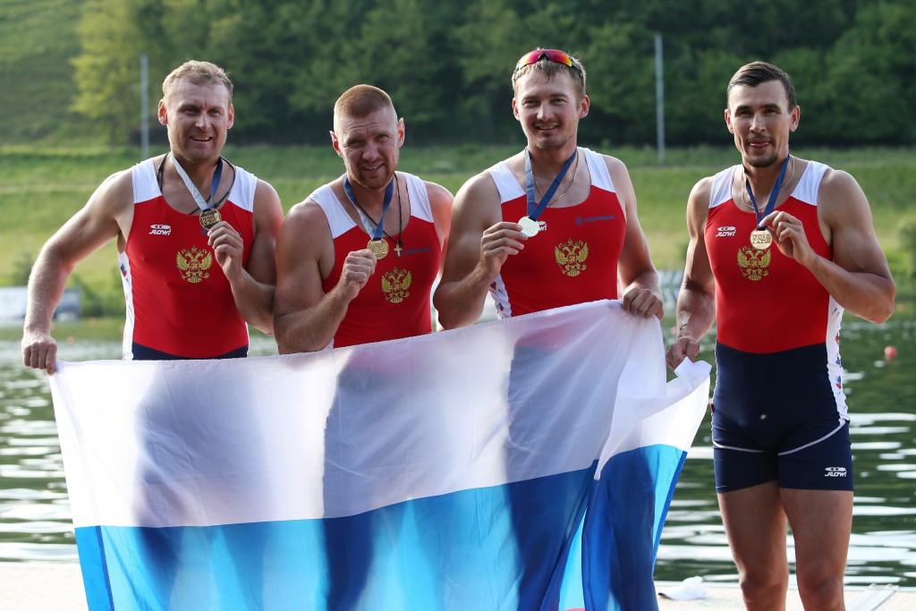 Russian quadruple sculls crew banned from Rio 2016 after rower fails drugs test