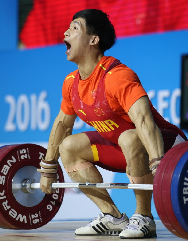 China's Liu Jiawen won the men's 85kg overall title at the IWF Junior World Championships in Tbilisi ©IWF