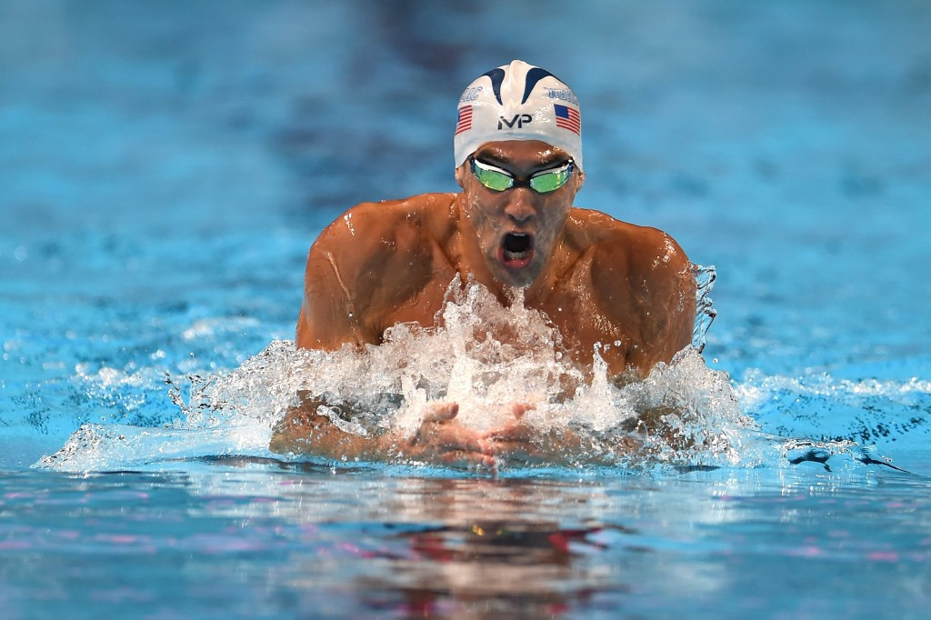 Michael Phelps and Ryan Lochte will meet in the final of the men's 200 individual medley after both swimmers won their heats ©Getty Images