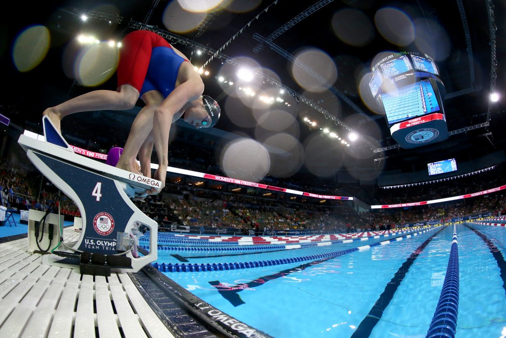 Missy Franklin was a high-profile casualty on the fifth day of the meet in Omaha as she failed to qualify for the 100m freestyle event ©Getty Images
