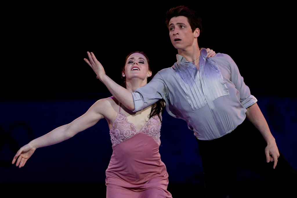 Tessa Virtue and Scott Moir are due to return to the ISU circuit next season ©Getty Images