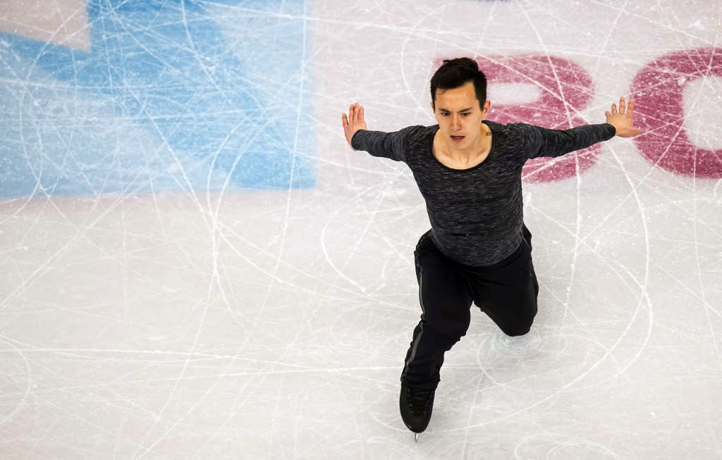Patrick Chan is due to compete on home ice in Mississauga ©Getty Images