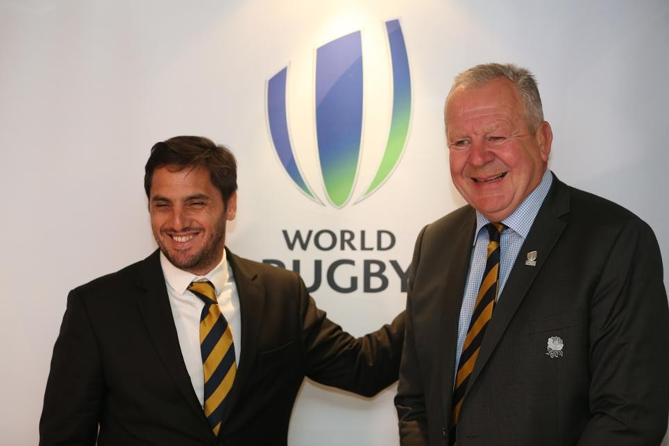 Agustín Pichot served as World Rugby vice-chairman to Sir Bill Beaumont from 2016 but is now opposing him for the top job, with votes due to be cast in the coming days ©Getty Images