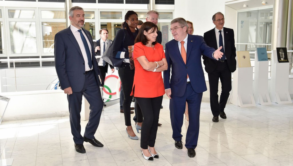 "IOC President praises Paris 2024 ""unity"" and venues at first official meeting"