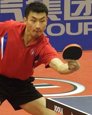 Top seed crashes out of ITTF Pyongyang Open