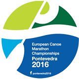 Hungary claim three more titles as age group action continues at European Canoe Marathon Championships