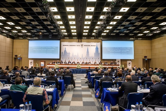 The ISSF General Assembly opened today in Moscow ©ISSF