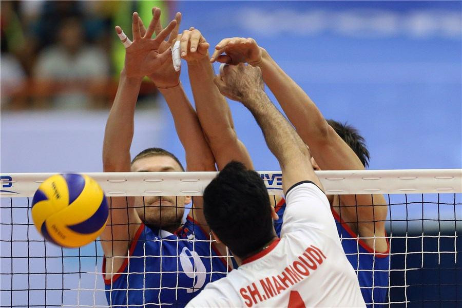 "FIVB hail key ""first step"" after groups of women watch World League volleyball in Tehran"