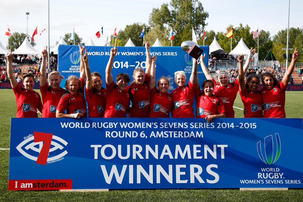 Canada were one of the stronger teams in the World Rugby Women's Sevens Series and won the final event in Amsterdam