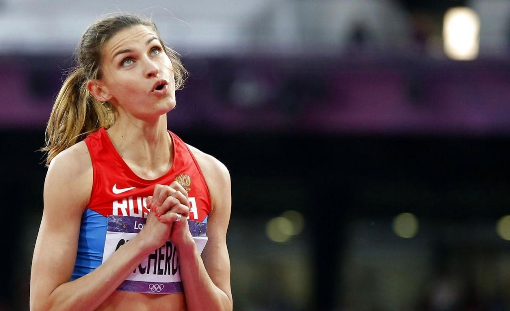 Anna Chicherova is the third Russian gold medallist from London 2012 to be implicated in a doping scandal ©Getty Images