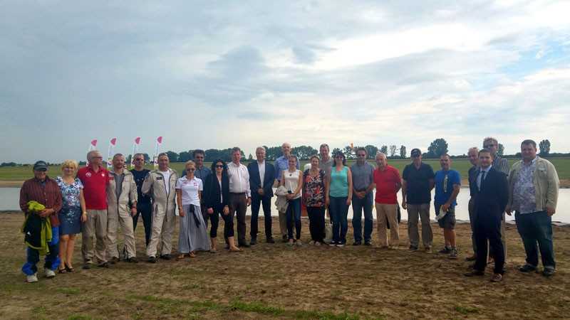 Event directors and officials gathered together at Szymanow Airfield to discuss preparations for air sports at next year's World Games in Wroclaw ©FAI